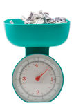Weight of money stock photos