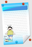 Weight Notepad Royalty Free Stock Photography