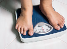 Daily weight Stock Images