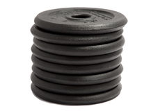 Weight plates Stock Image