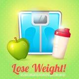 Weight poster diet Stock Photos