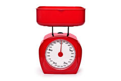 Weight red scale royalty free stock photography