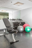Weight Room Royalty Free Stock Image
