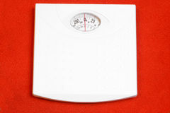 Weight scale. A balanced weight scale ready for use Stock Image