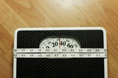 Weight scale 7 Royalty Free Stock Photos