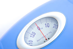 Weight scale close up Stock Photo