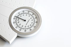 Weight scale isolated on white background Stock Photography