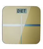 Weight Scale Message Royalty Free Stock Photography
