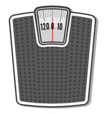 Weight Scale Royalty Free Stock Photos