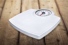 Weight scale. Scale bathroom scale healthy lifestyle healthcare and medicine aspirations single object stock photos
