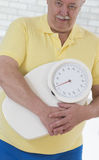 WEIGHT SENIOR Stock Images