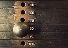Free Weight Stack Texture Royalty Free Stock Photos - 110090248