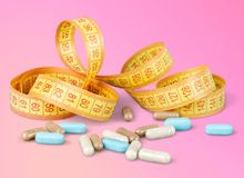 Weight supplements Royalty Free Stock Image
