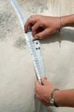 Weight tape Stock Photo