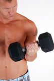 Weight training Royalty Free Stock Photography