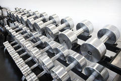 Weight Training Equipment royalty free stock image