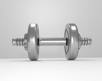 Weight training equipment. Stock Photography