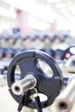 Weight Training Equipment Stock Photography
