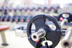 Weight Training Equipment Royalty Free Stock Photo