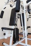 Weight Training Machine in Gym Royalty Free Stock Image