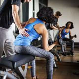 Weight Training Workout Exercise Fitness Concept Stock Photo