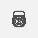 Weight vector icon Stock Photo