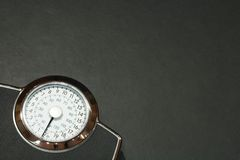Weight watching Royalty Free Stock Photo