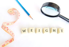 Weight watching concept Royalty Free Stock Image