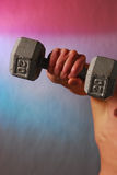 Weighted arm Royalty Free Stock Photos