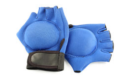 Weighted gloves royalty free stock photography
