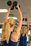 Weightlifter 13 da mulher Imagens de Stock