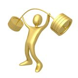 Weightlifter Lizenzfreies Stockbild