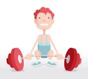 weightlifter Fotografie Stock Libere da Diritti