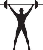 weightlifter Στοκ Εικόνες