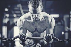weightlifter royaltyfria bilder