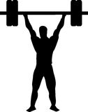 Weightlifter Fotos de Stock Royalty Free