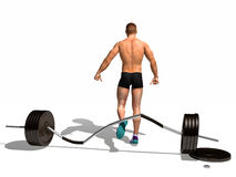 Weightlifter Royalty Free Stock Image