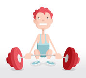 Weightlifter Royalty Free Stock Photos
