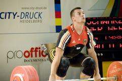 weightlifting Fotografia Stock