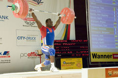 Weightlifting Lizenzfreie Stockbilder