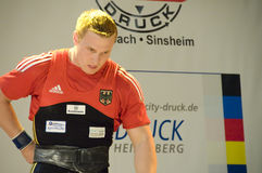 Weightlifting Stockfoto