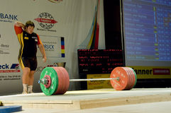 Weightlifting Stock Foto's