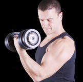 Weightlifting Royalty Free Stock Photos