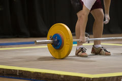 Weightlifting Fotografia de Stock Royalty Free
