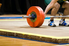 Weightlifting Images libres de droits