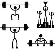 weightlifting Imagens de Stock Royalty Free