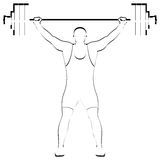 Weightlifting Stock Image