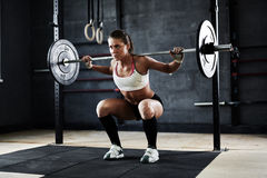 Weightlifting Royalty Free Stock Image