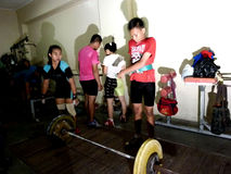 Weightlifting Stock Images