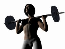 Weightlifting. Royalty Free Stock Photos